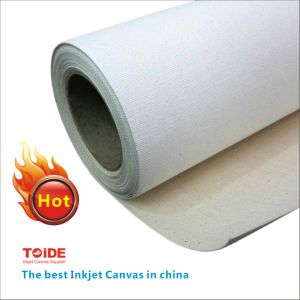 3mcotton/Polyester /Polycotton / 3.2m Inkjet Canvas pictures & photos