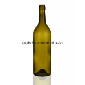 750ml Standard Bordeaux Wine Bottle (Screwtop and Cork Top H300mm) pictures & photos
