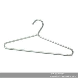 8mm Diameter Aluminium Fashion Metal Wire Coat Hangers pictures & photos