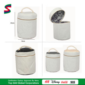 Recycled Sailcloth Round Tote Bag