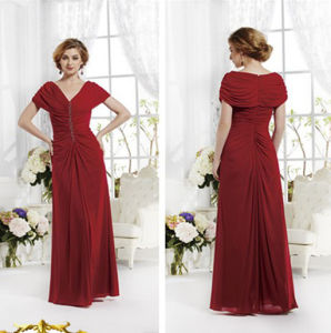 2015 New Fashion Red Long Beautiful Evening Dress
