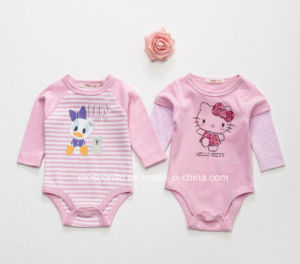 New Design Korea Fashion Wondersuits Rompers Newborn Baby Bodysuit Cotton Baby Romper Set pictures & photos