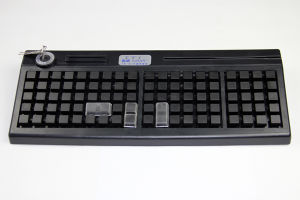Black Color POS Editable 95 Keys Editor Keyboard pictures & photos