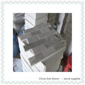 Chinese White Marble Mosaic Tile for Bathroom pictures & photos