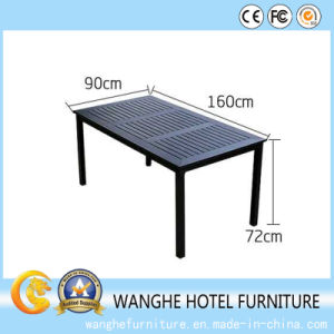 Strong Metal Top Hotel Coffee Restaurant Dining Table pictures & photos