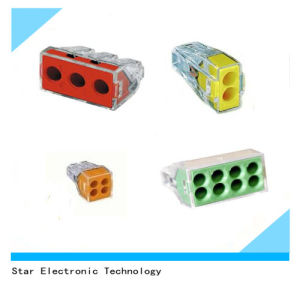 High Quality of Wago Push Wire Connector Terminal Block pictures & photos