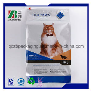 Manufacturer Aluminum Foil Side Gusset Quad Seal Pet Treat Packaging Bag pictures & photos