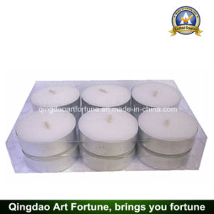 Maxi White Tealight Candle with 8 Hours Burning Time pictures & photos