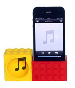 Silicone Horn Stand for iPhone 5 5s pictures & photos