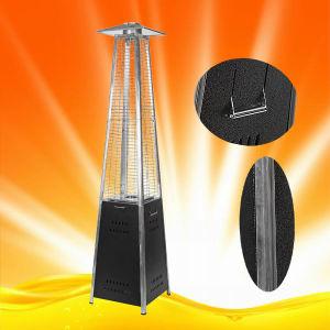 H1502 Quartz Glass Tube Pyramid Black Steel Patio Heater pictures & photos