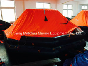 Inflatable 10 Man Rubber Inflatable Solas Life Raft pictures & photos