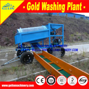 Mobile Gold Washing Machine, Movable Gold Ore Wash Equipment (GL) pictures & photos