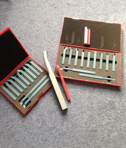 DIN ISO Brazed Carbide Tipped Turning Tool Bits pictures & photos