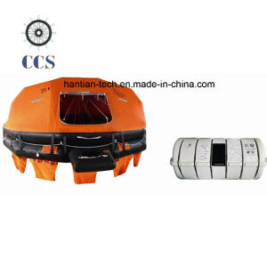Davit Launching Solas Marine Rubber Inflatable Liferafts (D25) pictures & photos