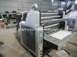 Pneumatic Hydraulic Cardboard Laminator Machine pictures & photos