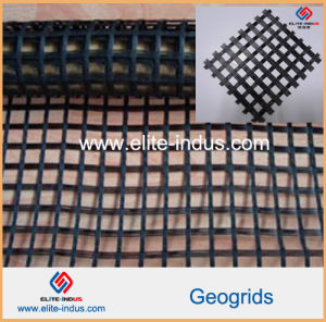Reinforcing Warp Knitted Knitting Polyester Pet Geogrid pictures & photos