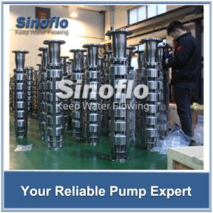 """10"""" Stainless Steel Deep Well Submersible Borehole Turbine Pump pictures & photos"""
