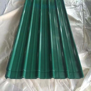 Color Coated Galvanized Corrugated Steel Sheet for Roofing pictures & photos