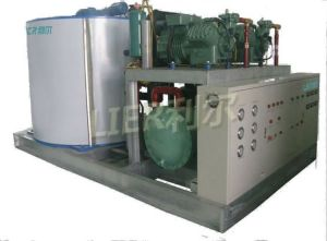 Industrial Concrete Cooling Flake Ice Plant, Flake Ice Making Machine pictures & photos