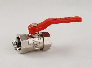 Brass Nickle Plated Female Thread Ball Valve (YD-BV106)