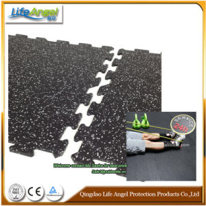 500*500 mm Interlock Rubber Mat Rubber Sheet Gym Floor