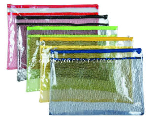 PVC Colorful Zipper Bag (V7101) pictures & photos