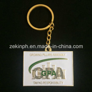 Creative Gifts Custom Gold Plated Keychain pictures & photos