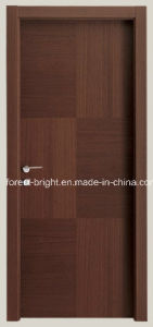 Interior Prehung Flush Door with Frames pictures & photos