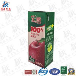 250 Ml Slim Aseptic Brick Juice Carton pictures & photos