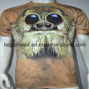Sublimation 3D Round Neck Printed T- Shirt for Man pictures & photos