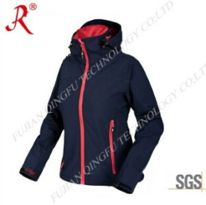 Women′s Soft Shell Jacket for Outdoor Sport (QF-4062) pictures & photos