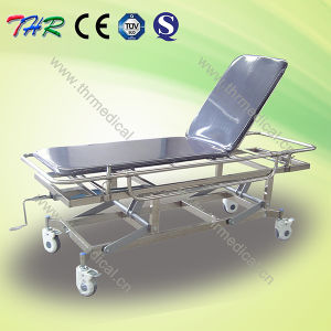 Thr High Quality Hospital Stainless Steel Transport Stretcher pictures & photos