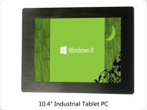 "10.4""Aluminium Alloy Industrial Panel Tablet PC with Capacitive Resistive Touch Optional pictures & photos"