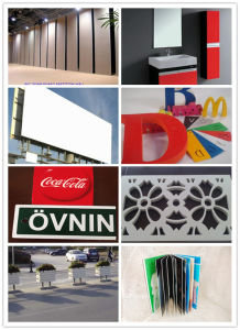 PVC Foam Sheet Cutting Engraving Board pictures & photos