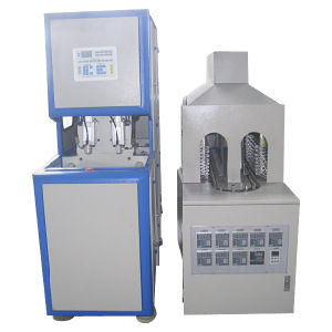 0.2L-2L 2 Cavity Semi Automatic Blowing Mould Machine with Ce pictures & photos