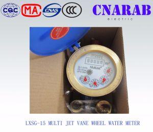 Multi Jet Vane Wheel Water Meter (Iron body) Lxsg-15 pictures & photos