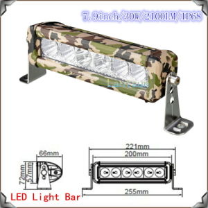 New CREE Camouflage LED Light Bar 13-30W Waterproof pictures & photos