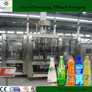 Small Carbonated Drink 3 in 1 Filling Line pictures & photos