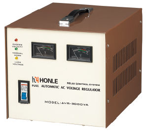Honle AVR Series Voltage Stabilizer 220V 3kw pictures & photos