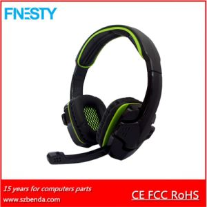 Gaming Wired Headphone Earphone Headset with Mic and Remote Contral