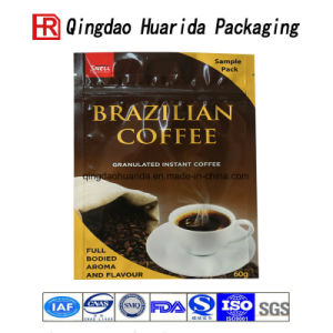Stand up Resealable Plastic Food Bag for Coffee Packaging pictures & photos