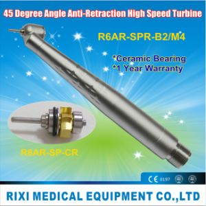 45 Degree Angle Anti-Retraction High Speed Turbine