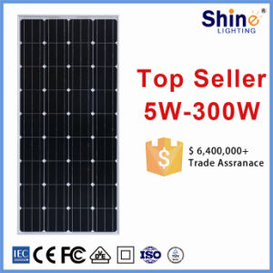 Great Competitive Price 150wp Monocrystalline Silicon Poly Solar Panels for Roof Install pictures & photos