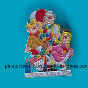 Soft Enamel Color-Fill Lapel Pin pictures & photos
