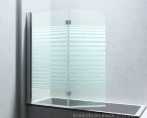 Fixed Glass Bathtub Shower Screen with SGCC Certificate pictures & photos