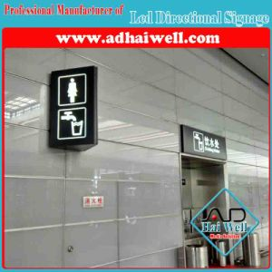 Wall Mounted LED Directional Signage Light Box pictures & photos