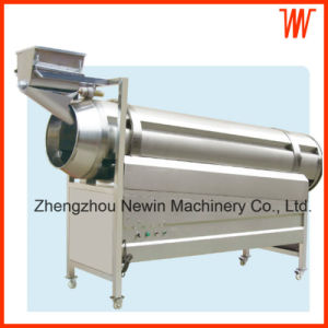 Auto Continuous Drum Type Food Snack Flavoring Machine pictures & photos