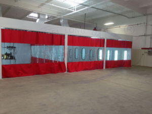 Automotive Paint Prep Booth Preparation Station with Excellent Exhaust Air System pictures & photos