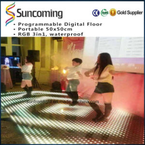 Suncoming latest DMX LED Dance Floor pictures & photos