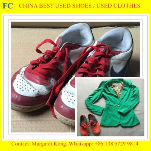 Mixed Baled Summer Original Sorted Good Quality Used Shoes pictures & photos